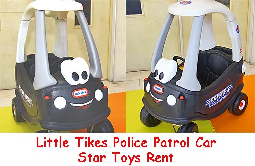 LIttle Tikes Cozy coupe police patrol car